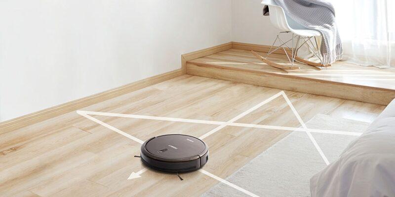 robot vacuum work