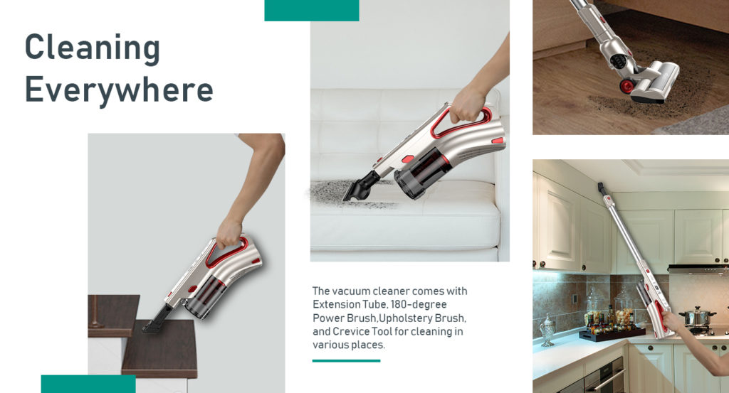 Comfyer Cyclone Cordless Vacuum Cleaner