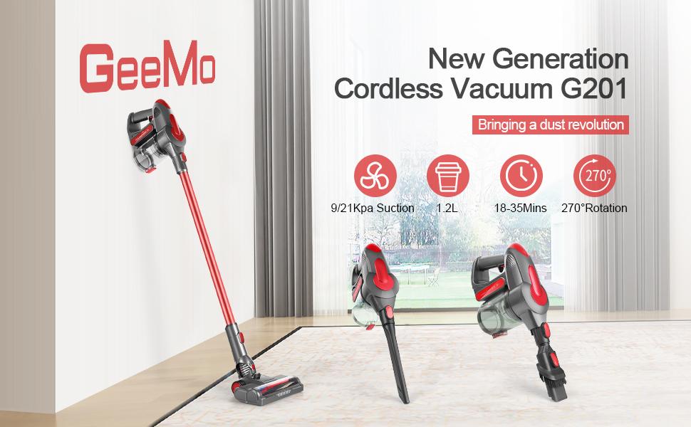 GeeMo G201 vacuum cleaner
