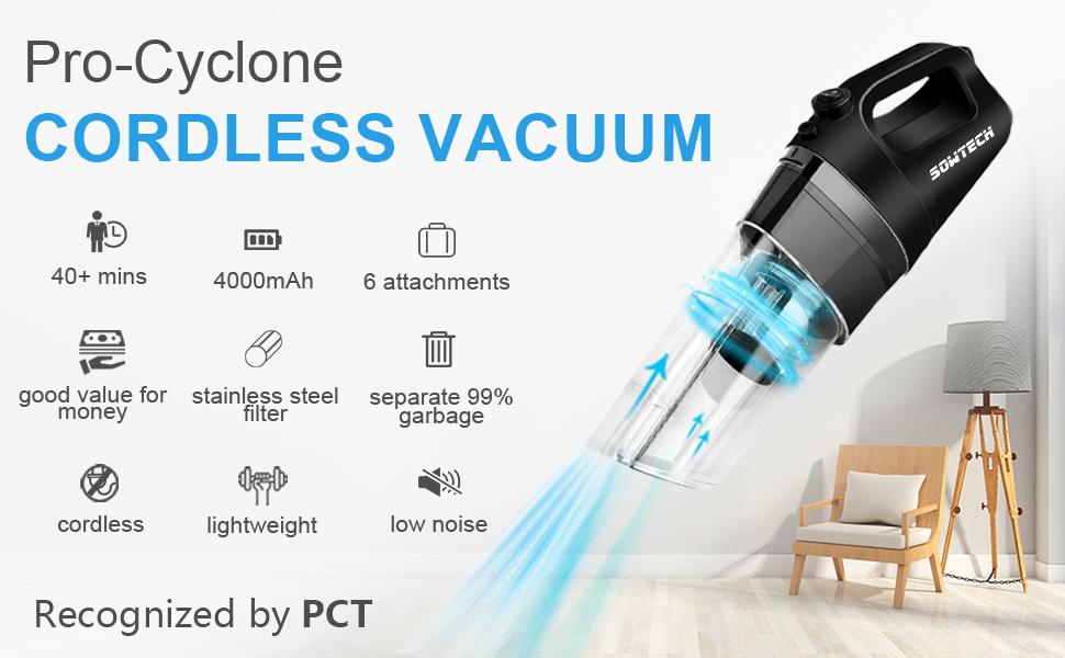 SOWTECH Cordless Vacuum8